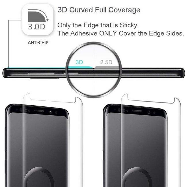 Kính cường lực full keo UV Galaxy S7 Edge Rockymile