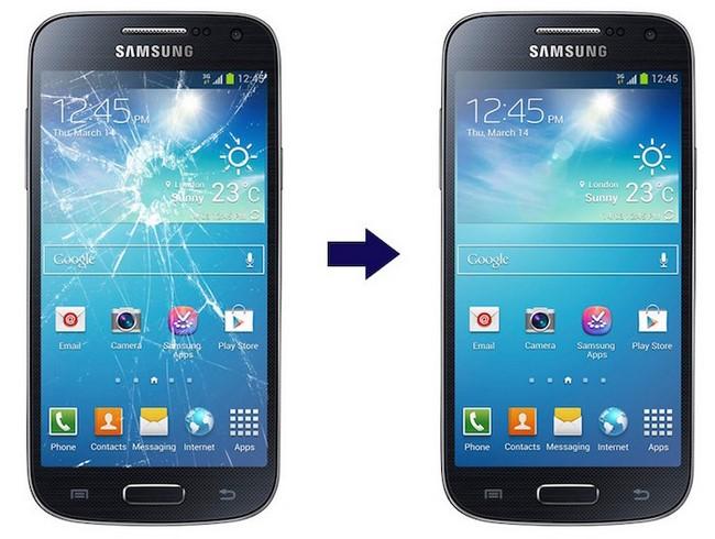 Thay mặt kính Galaxy S4 chính hãng