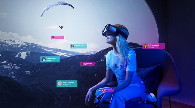 kính thực tế ảo Samsung Gear VR R320 2018