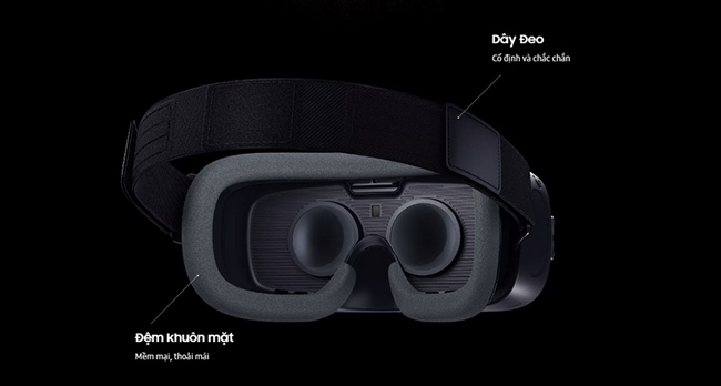 Kính thực tế ảo Samsung Gear VR 2017