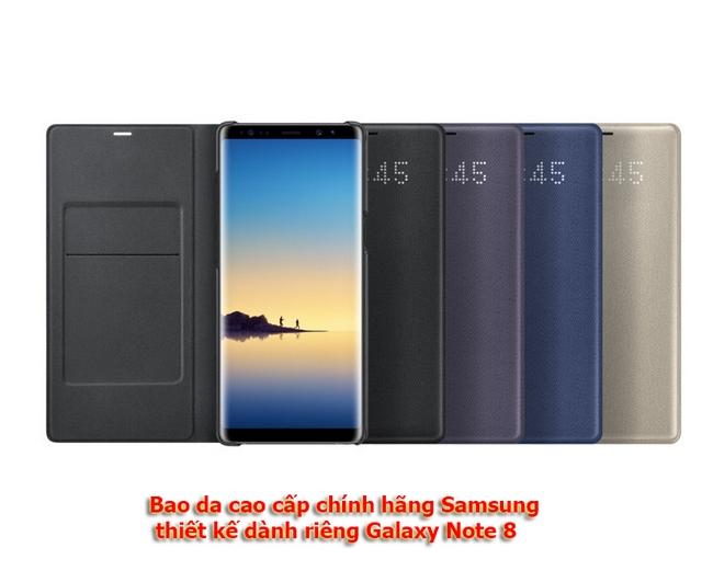 Bao da Led View Galaxy Note 8 chính hãng