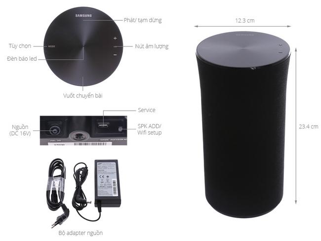 chọn chế độ kết nối Wi-Fi, Bluetooth hay TV SoundConnect
