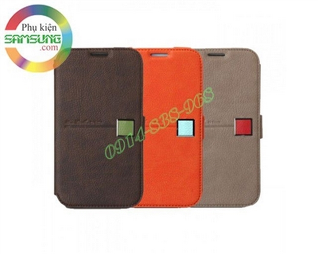 Bao da Galaxy Note 2 hiệu Zenus Color Point Diary Collection