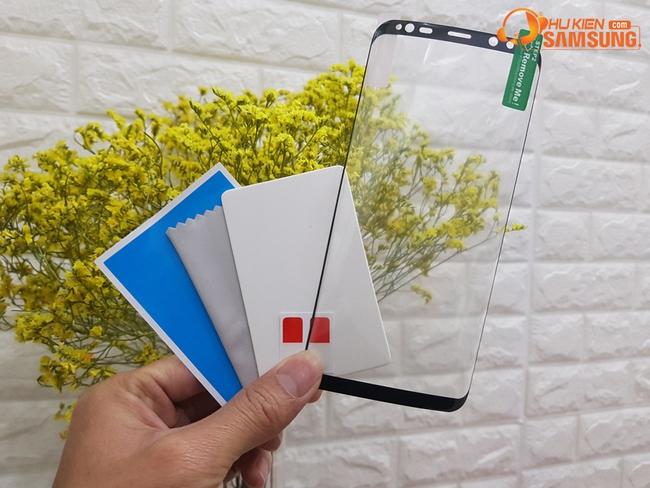 Miếng dán dẻo viền màu full màn hình Galaxy S8 hiệu Vmax