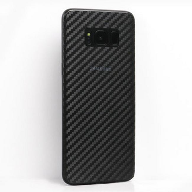 Miếng dán lưng vân Cacbon Galaxy S8 Plus