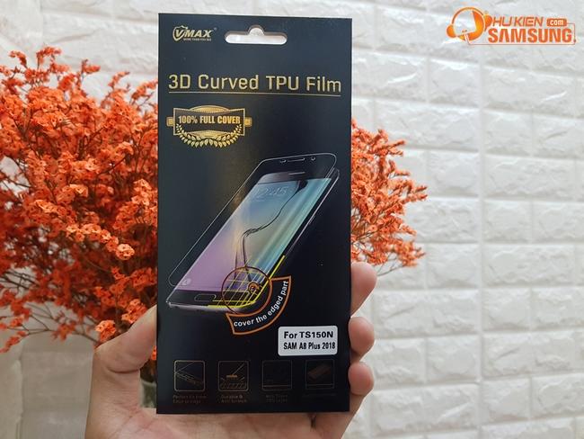 Miếng dán full màn hình Galaxy A8 Plus hiệu Vmax
