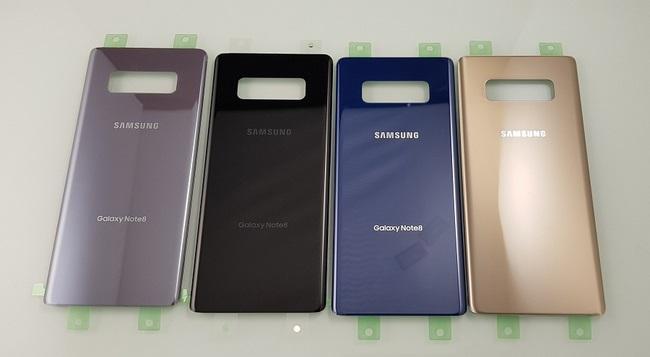 nắp lưng Galaxy Note 8 chính hãng