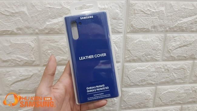 Ốp lưng Leather Cover Galaxy Note 10 giá bao nhiêu hcm