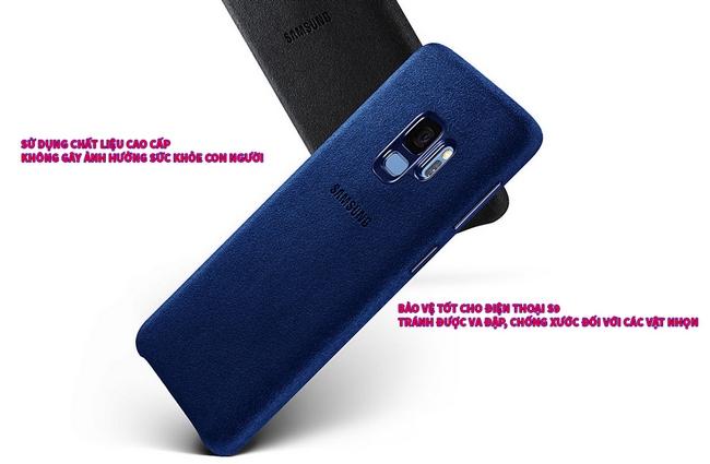 Ốp lưng Alcantara Galaxy S9 chính hãng