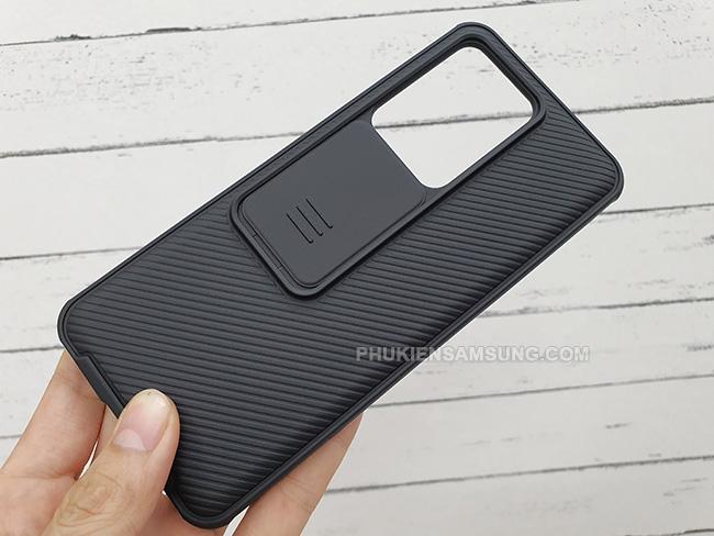 Ốp lưng Samsung S20 Ultra Nillkin CamShield Pro độc
