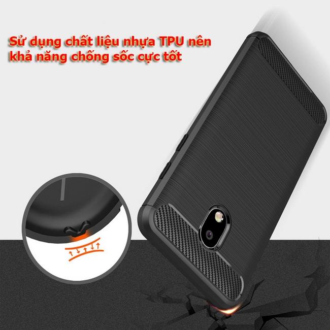 Ốp lưng chống sốc Galaxy J7 Pro giúp bảo vệ máy tối đa