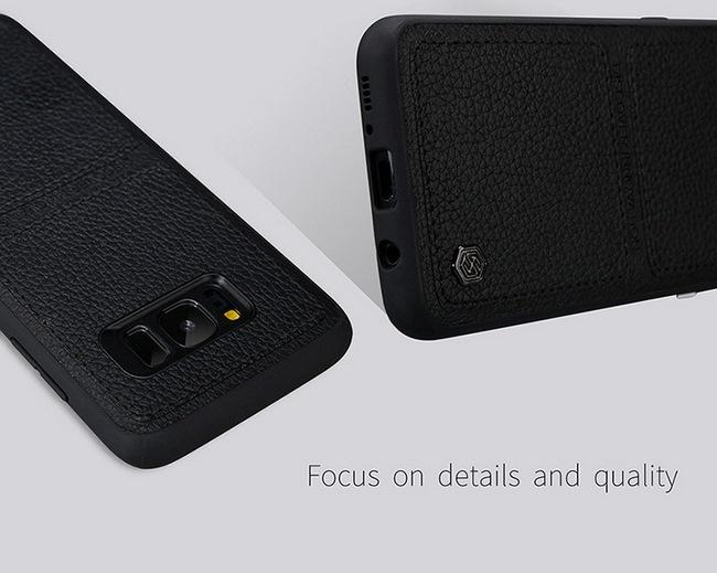 Ốp lưng da Galaxy S8 Plus hiệu Nillkin Burt