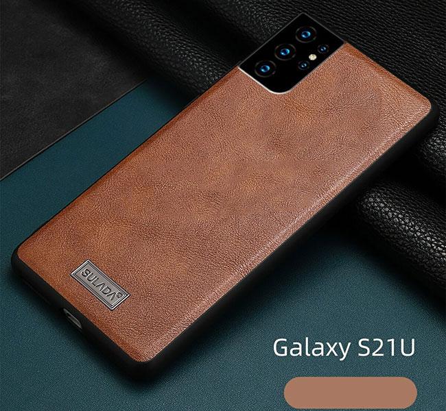 Ốp lưng da Samsung S21 Sulada
