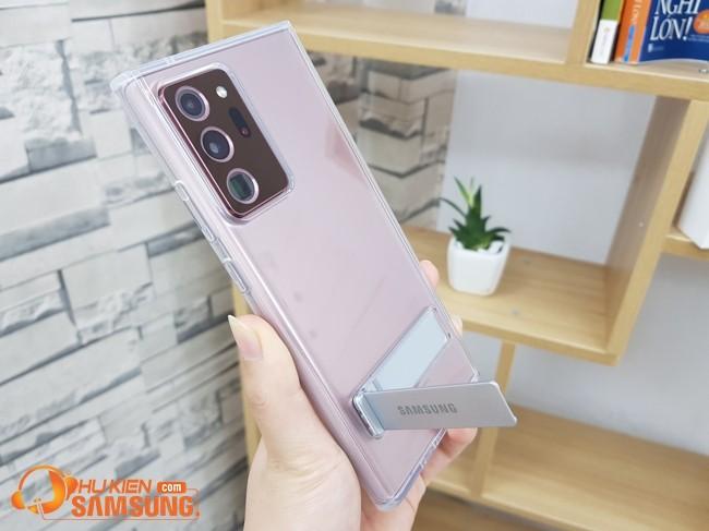 Ốp lưng Galaxy Note 20 Ultra Clear Standing chính hãng