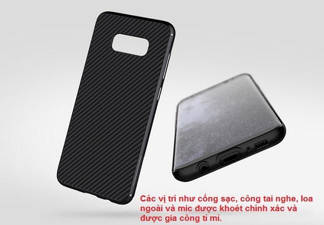 Ốp lưng Galaxy S8 Plus hiệu Nillkin Synthetic Fiber