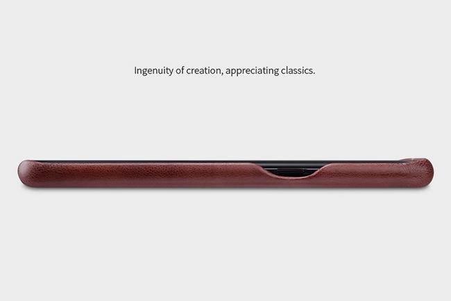 Ốp lưng da Galaxy S8 Plus hiệu Nillkin Englon Leather