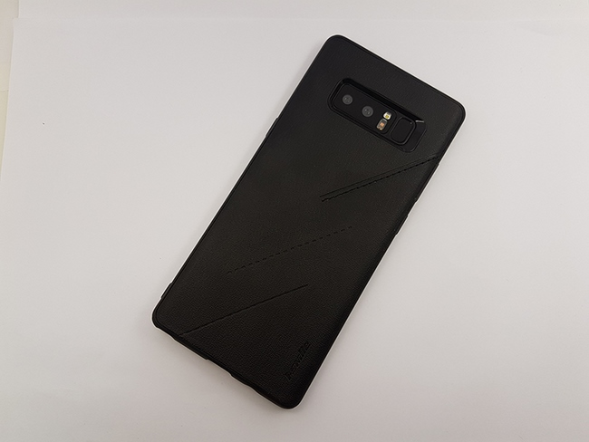 Ốp lưng da Samsung Note 8 hiệu I-smile