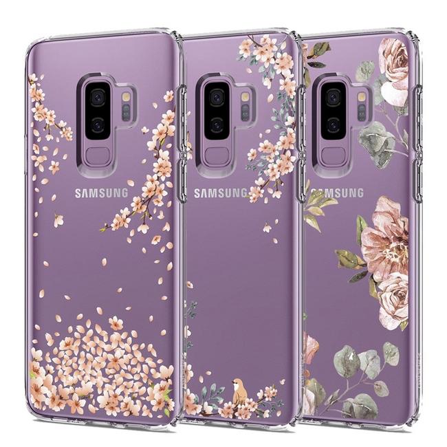 Ốp lưng Galaxy S9 Plus Spigen Liquid Crystal Blossom
