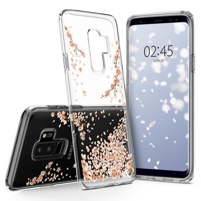 ốp lưng S9 Plus Spigen Liquid Crystal Blossom