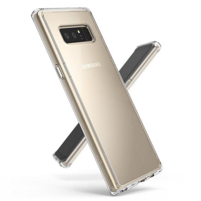 Ốp lưng Galaxy Note 8 Ringke Fusion
