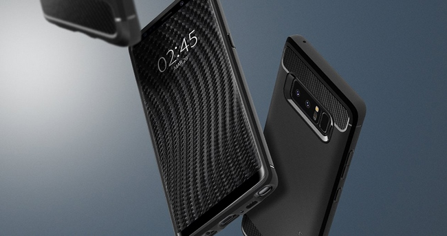 Ốp lưng Galaxy Note 8 Spigen Rugged Armor