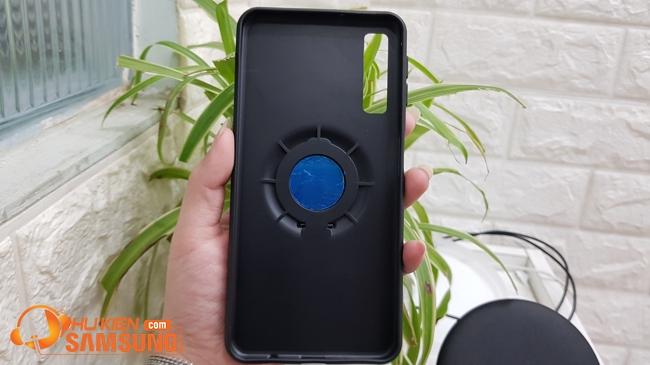 ốp lưng Samsung A70 kèm RING dẻo hiệu iFace