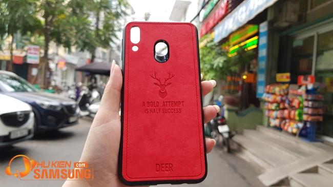ốp lưng Samsung A20 vải con Nai đẹp giá
