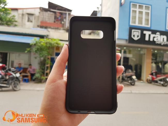 Ốp lưng Samsung Galaxy S10E Nillkin Synthetic fiber đẹp hcm