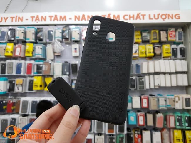 Ốp lưng sần Nillkin Samsung A30