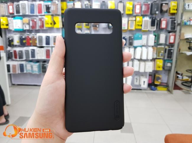 ốp lưng sần Nillkin Samsung s10 plus giá rẻ