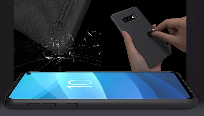 Ốp lưng sần Samsung S10E hiệu Nillkin ĐẸP