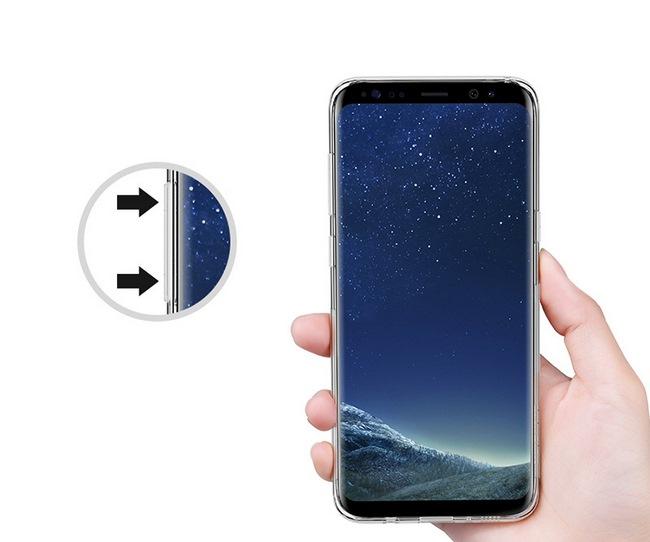 Ốp lưng Silicon Galaxy S8 hiệu Nillkin