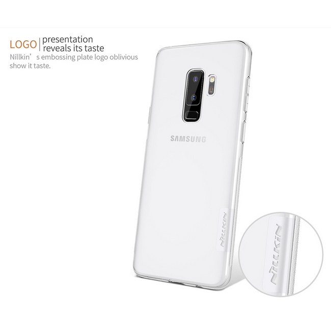 Ốp lưng Slicon Nillkin Galaxy S9 Plus