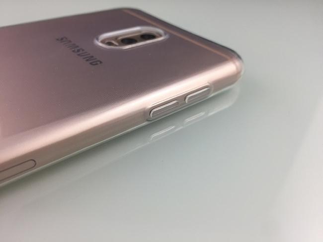 Ốp lưng Silicon Galaxy J7 Plus hiệu iSmile