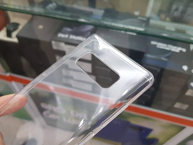 Ốp lưng silicon trong suốt galaxy Note 8 hiệu Gor