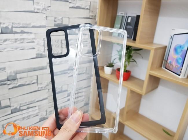 ốp lưng Galaxy Note 20 Spigen Ultra Hybrid trong suốt
