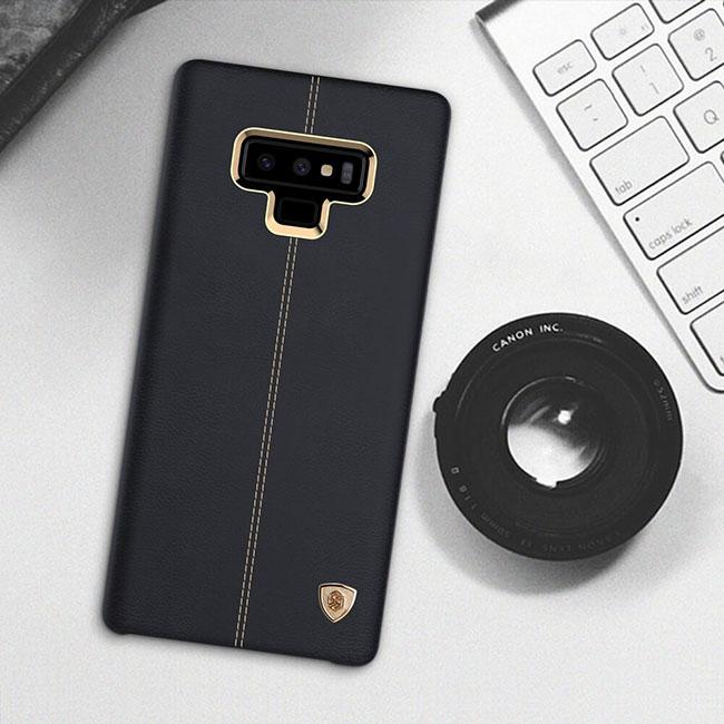 Ốp lưng Englon Leather Cover Galaxy Note 9 chính hãng