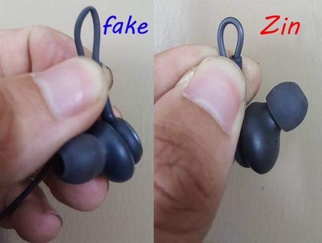 phân biệt dây tai nghe xịn và fake