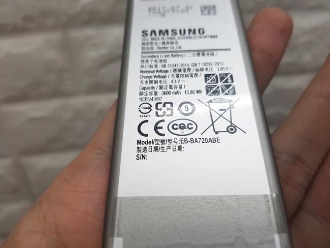 Pin Samsung A7 2017 chính hãng