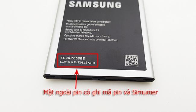 Pin Galaxy J2 Prime chính hãng