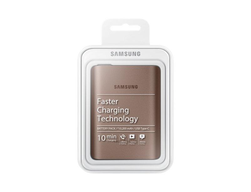 Pin sạc dự phòng 10.200mAh Type-C cho Galaxy Note 8
