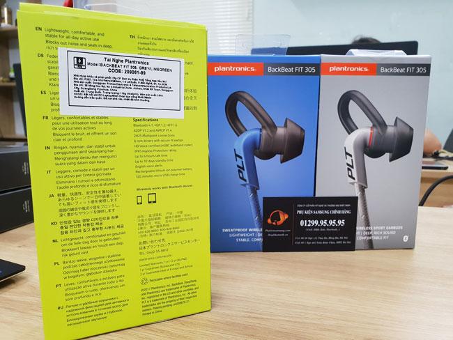 Tai nghe Bluetooth Plantronics BackBeat Fit 305