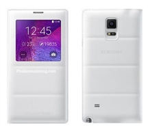 Bao da Galaxy Note 4 N910 Sview màu Padding - White