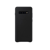 Ốp lưng Galaxy S10 Plus Leather Cover da cao cấp