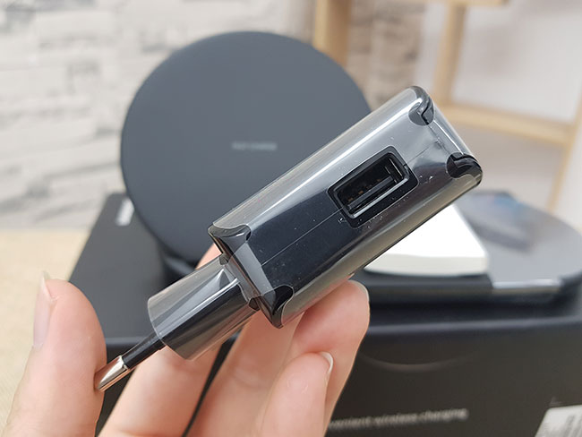 Sạc nhanh không dây Samsung S20 Plus TPHCM