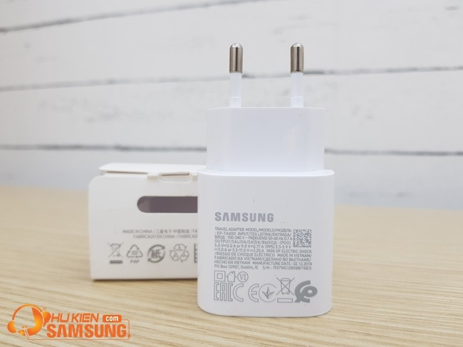 sạc nhanh Samsung Note 10 25W GIÁ BAO NHIÊU