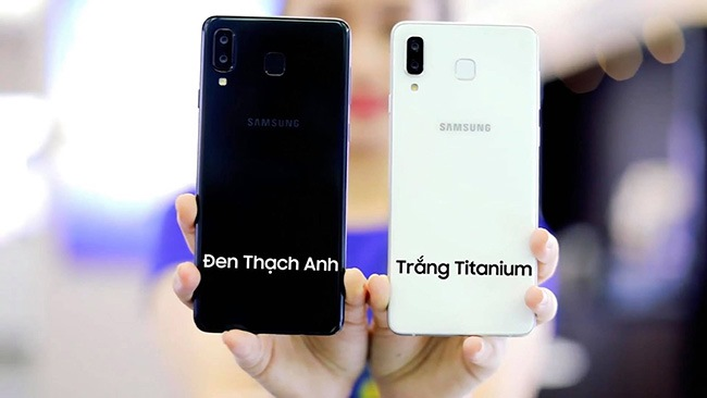 Galaxy A8 Star sẽ có 2 màu đen và trắng