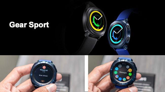 Samsung Gear Sport nhận thông báo tin nhắn, email, cuộc gọi nhỡ,...