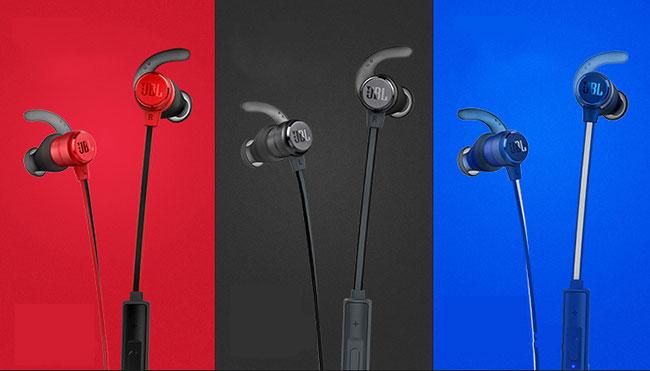 Kết nối Tai nghe bluetooth JBL-T280BT thiết kế quàng cổ