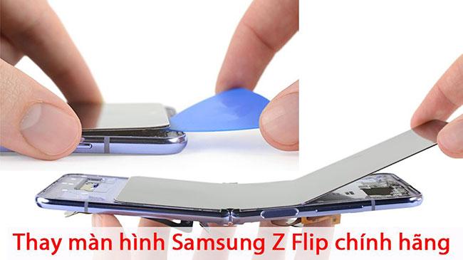 thay màn hình Galaxy Z Fold 2, Z Flip lấy ngay ở Hà Nội - TPHCM